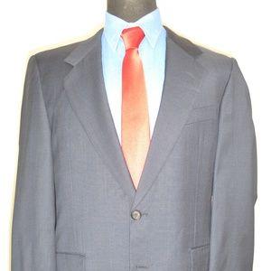 Hickey Freeman Bespoke 42R Sport Coat Blazer Suit